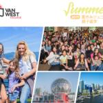 夏休みを利用した2019年VanWest サマージュニア留学・親子留学!