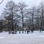 公共交通機関もストップ、学校も休校!大雪のバンクーバー!