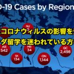 新型コロナウィルスの影響を受けてカナダ留学を迷われている方へ